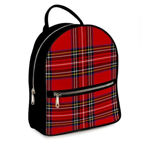 Рюкзак 3D міський Шотландка 04