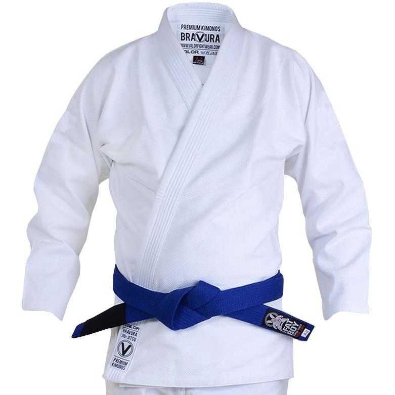 Кимоно для Бразильского Джиу Джитсу Valor Classic Plain White