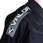 Кимоно для Бразильского Джиу Джитсу Valor Deluxe Black, фото 8