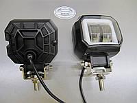 1 штука LED фара GV-20WСТГ квадратные, с ДХО - 1шт.- не слепят встречных. https://gv-auto.com.ua, фото 1