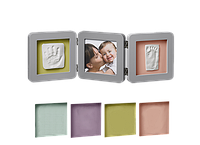 Рамочка Baby Art Double Print Frame Grey
