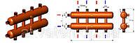 Разделительный коллектор серии Р с внешней резьбой ОКС-Р-3-4-НР