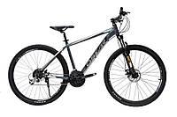 "Велосипед OSKAR 27,5"" AIM серый"