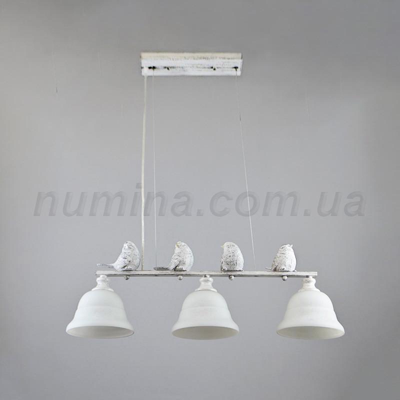 Люстра подвесная на три лампы 14-6990/3WG