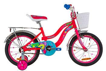 """Детский велосипед 16"""" FORMULA FLOWER 2019 Розовый-2"""