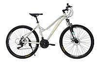 """Велосипед женский OSKAR 27,5""""-1851 серо-бежевый"""