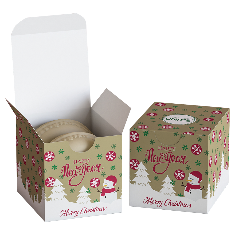 Подарункове мило Akten Cosmetics Unice з ароматом какао 2 × 50 м (3605045)
