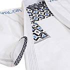 Кімоно для Бразильського Джиу Джитсу Valor Prime 2.0 Premium Lightweight White, фото 5