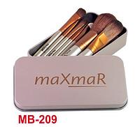 Набор кистей из 7 инструментов в металлическом футляре SILVER maXmaR MB-209