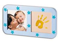 Набор Baby Art Phospho Print Frame (светящаяся фоторамка с отпечатком ручки или ножки)