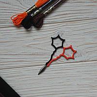 Ножницы для рукоделия Frightweb (Black/Orange) Kelmscott Design