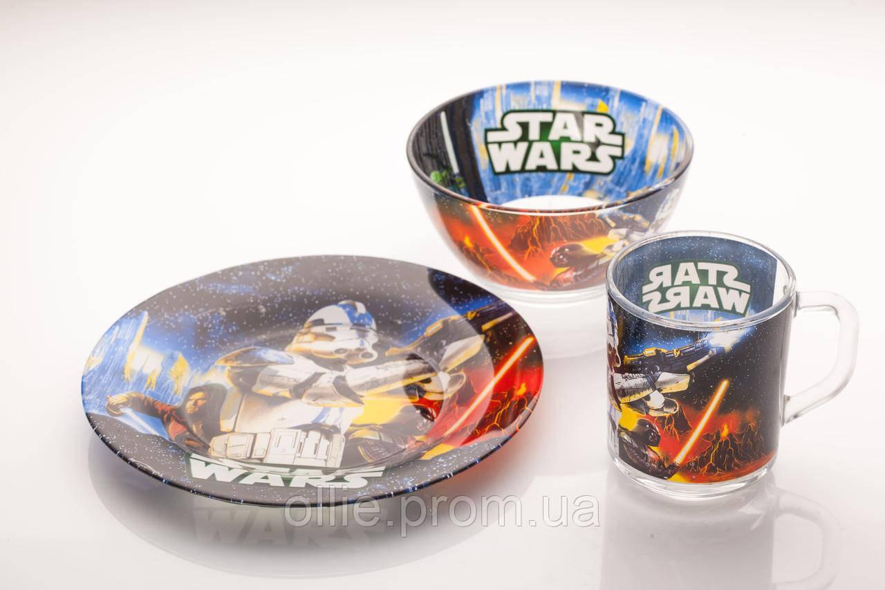 Набор посуды для детей звездные войны