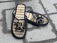 Шлепанцы закрытые сетка женские оптом Украина ассорти, фото 1