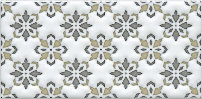 Декор Kerama Marazzi 7,4х15 Клемансо орнамент STG\A619\16000
