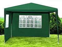 Садовой павильон 3х3 метра 2 стенки, фото 1
