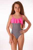 Подростковый купальник монокини в полоску Keyzi STAR 122 Полосатый Keyzi STAR
