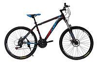 """Велосипед OSKAR 26""""1814 черно-синий"""