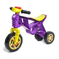 Детский беговел Орион 171, ролоцикл, трехколесный, фиолетовый