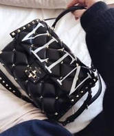 Сумка Valentino VLTN Candystud Top Handle Bag Хит 2019