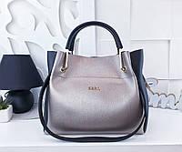 fb981ac23a32 Женская сумка Michael Kors, Zara, YSL (копия) бронзового цвета, из  структурной