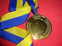 Медаль наградная диаметр 45мм