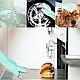 SILICONE MAGIC GLOVES Рукавички для миття посуду універсальні (2 рукавички), фото 9