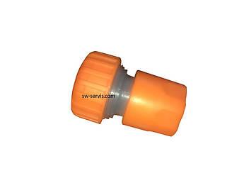 Коннектор для поливального шланга 3 4 пластиковий