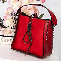 5b875b302796 Красная лаковая сумка с шипами, цена 821,60 грн., купить в Харькове ...