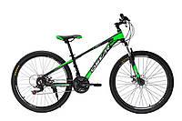 """Велосипед OSKAR 26""""Piranha черно-зеленый"""