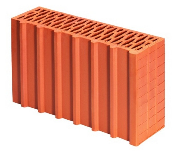 Porotherm (Поротерм) 44 1/2 P+W (Половинка) керамический блок
