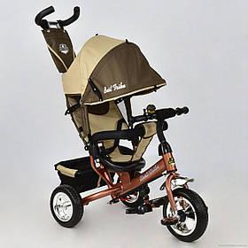 Детский трёхколёсный велосипед 6588 - 0230 ШОКОЛАДНО-БЕЖЕВЫЙ