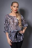 Легкая летняя шифоновая блуза