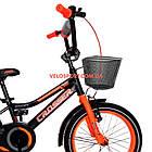 Детский велосипед Crosser Rocky 16 дюймов черно-оранжевый, фото 3