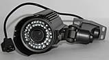 Камера наружного наблюдения (вариофокальная) с креплением IP (MHK-N701-100W), фото 4