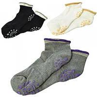 Носки для йоги (фитнеса) и спорта безразмерные Profi (MS 2474)