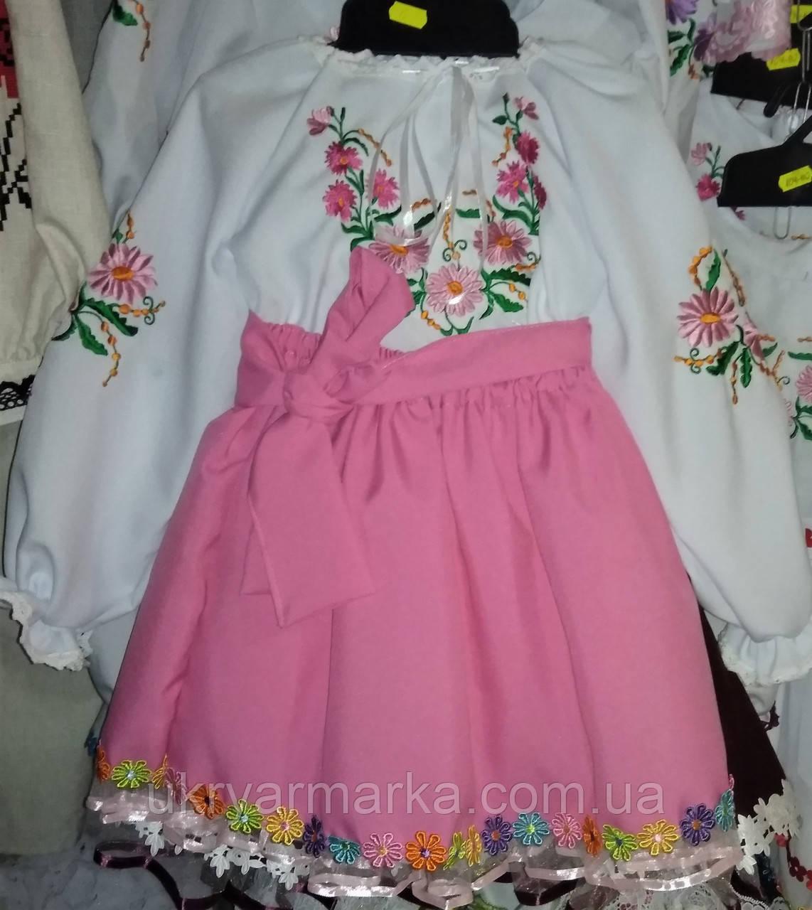 Святкове дитяче вишите плаття