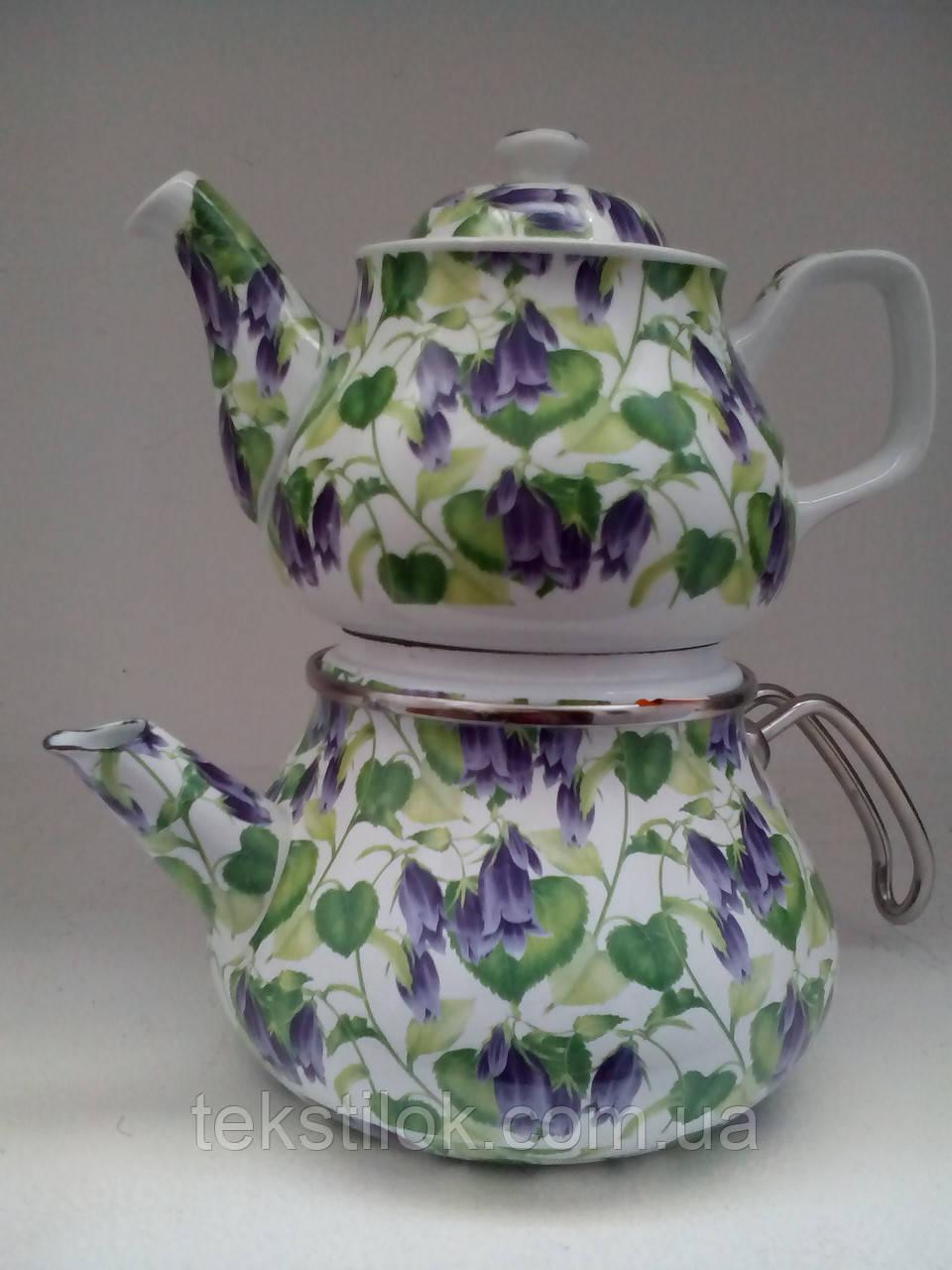Набор чайный эм. SAVASAN E-CDO Гибискус синий 4841