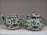 Набор чайный эм. SAVASAN E-CDO Гибискус синий 4841, фото 2