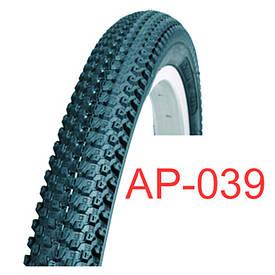 Велосипедная покрышка черная 20х2.125 «Таиланд» (АР-039)