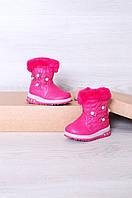 Ботинки детские розовые 6060