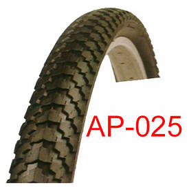 Велосипедная покрышка черная 24х2.125 «Таиланд» (АР-025)