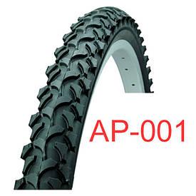 Велосипедная покрышка черная 24х2.125 «Таиланд» (АР-001)