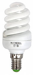 Лампа энергосберегающая T2 тип screw, цоколь Е14, 15W, 4200 К, колба T2