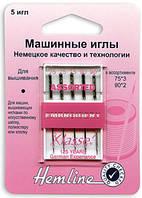 Иглы для бытовых швейных машин вышивальные № 75, 90