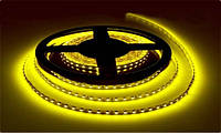 Светодиодная (LED) лента в силиконе 5050, 60 LED, Yellow, 5 метров, 12V, Waterproof