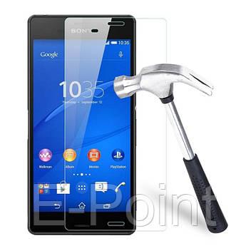 Защитное стекло Ultra Tempered Glass 0.33mm (H+) для Sony Xperia Z3/Xperia Z3 Dual (карт. упаковка)