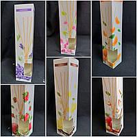 Автоматический диффузор с бамбуковыми палочками, стекло, разные ароматы, 45 мл., 85/75 (цена за 1 шт. + 10гр.)