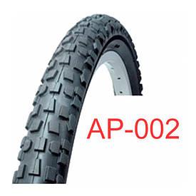 Велосипедная покрышка черная 26х2.35 «Таиланд» (АР-002)