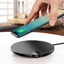 Беспроводное зарядное устройство Baseus Digital LED Display Wireless Charging (BSWC - P21), фото 3