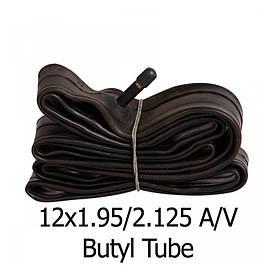 Велосипедная камера черная 12х2.125 «Таиланд»